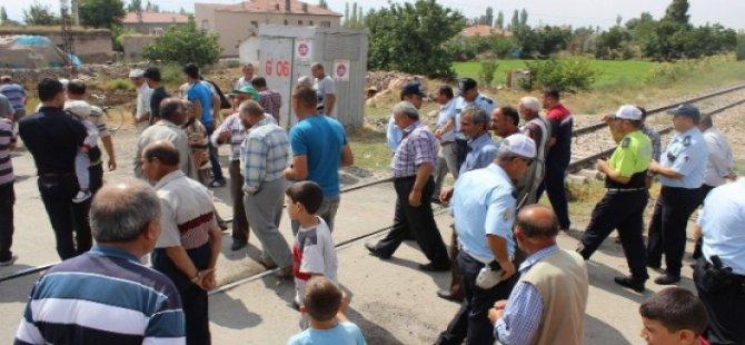 Cırgalan Mahalle Halkından Yol Kapatma Eylemi