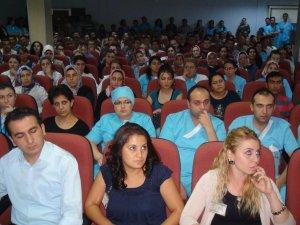 KAYSERİ DEVLET HASTANESİ ÇALIŞANLARI HİZMET-İŞ AİLESİNE KATILDI