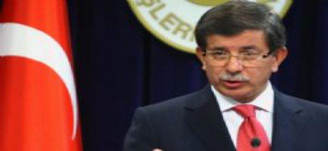 Davutoğlu'ndan 'mektup' açıklaması