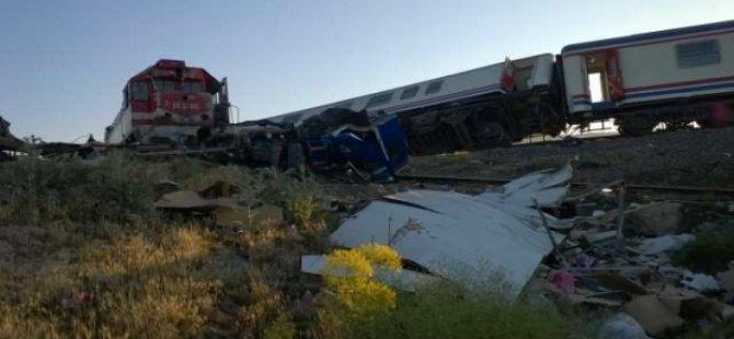 Tren Kazası Zanlılarına 24 Bin 300'er TL Para Cezası