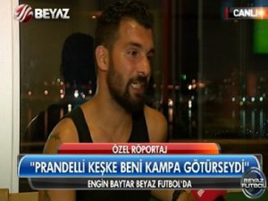 Galatasaray'lı futbolcu Engin Baytar