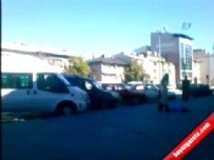 Kadın,kocasını silahla vurduktan sonra polisi arayarak teslim oldu-VİDEO