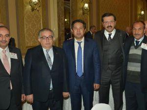 KAYSERİ TİCARET BORSA BAŞKANI  ÜNLÜ TOBB heyeti ile Kırgızistan ve Tacikistan'a gitti