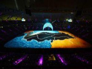 Akdeniz Oyunları'nda Muhteşem Kapanış Töreni