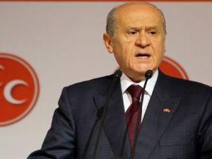 MHP Lideri Devlet Bahçeli'den Lice Eleştirisi