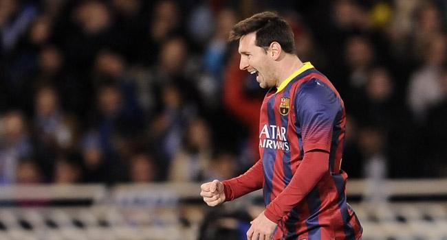 "Messi 400 ""dedi""!"