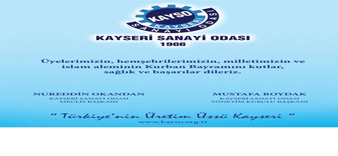 KAYSO BAYRAM MESAJI