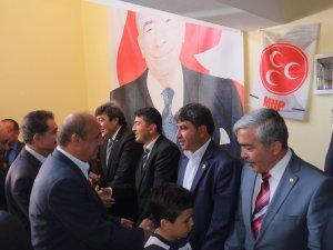 KAYSERİ MHP İL TEŞKİLATINDA BAYRAMLAŞMA
