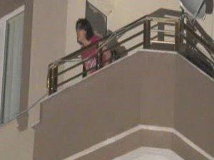 Alkollü Kadın Çocuklarını rehin alıp intihar girişiminde bulundu