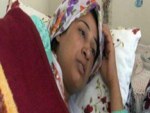 Gaziantep'te Eylemciler yüzünden bebeğini düşürdü