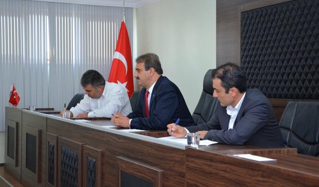Hacılar Belediyesi Türk Dünyası Belediyeler birliğine üye oldu
