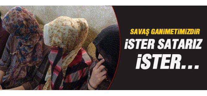 IŞİD, Ezidi kadınların cariye, erkeklerin de köle olarak kullanıldığı