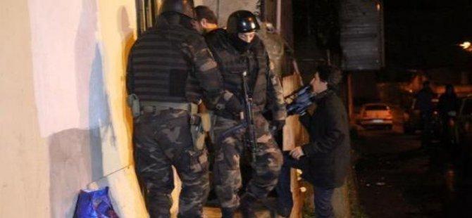 KAYSERİ'DE 85 EKİP 280 POLİSLE SUÇ ÖRGÜTÜNE BÜYÜK OPERASYON