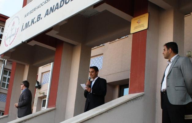 KAYSERİ'DE İMAM HATİP LİSELERİNİN 100. KURULUŞ YILDÖNÜMÜ KUTLANDI