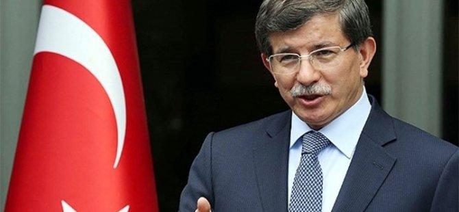 Davutoğlu'ndan çözüm süreci vurgusu