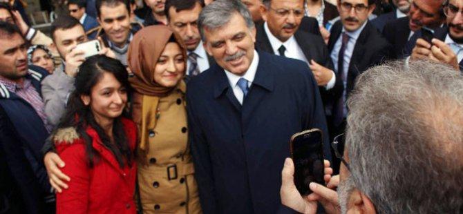 Kayseri'de İnanılmaz Kareler Bakan Yıldız çekti, Gül poz verdi