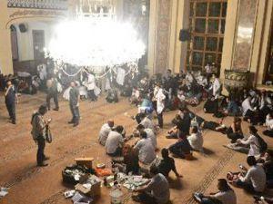 Valide Sultan Camii'ndeki rezaletin son görüntüsü - VİDEO
