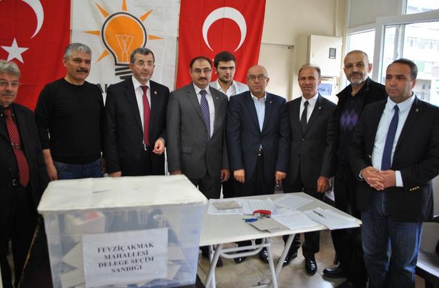 AK PARTİ KAYSERİ'DE DELEGE SEÇİMLERİMLERİ TAMAM