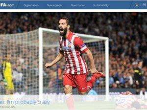 Arda Turan: EURO 2016'da mücadele etmek için dua ediyorum