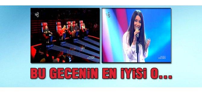 O Ses Türkiye'de bu gecenin en iyi sesi
