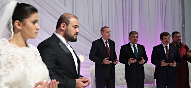 Cumhurbaşkanı Erdoğan Abdullah Gül Nikah Şahitliği Yaptı
