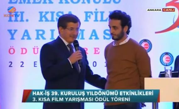 Davutoğlu'ndan kısa film yönetmenine ders gibi cevap -VİDEO