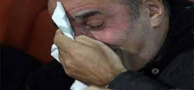 4 Gol Yiyen Galatasaray yöneticisi Abdürrahim Albayrak Maç sonu ağladı