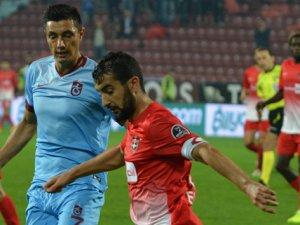 Trabzonspor Gaziantepspor 4 dörtlük maç yaptı
