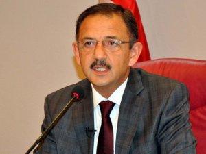 """Özhaseki: """"Kayseri'yi ayağa kaldıracak ne kadar proje varsa omuz verdik"""""""