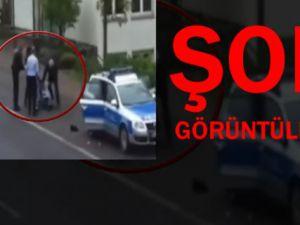 Merkel Kendi Polisini Görmüyor Şok Görüntüler-Video