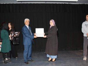 Kayseri İl Kültür ve Turizm Müdürlüğü'nde El sanatları töreni yapıldı