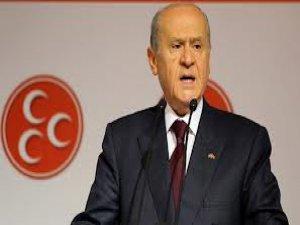 Bahçeli'den HDP'nin sokağa çıkma çağrısına cevap