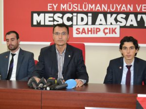 SP KAYSERİ GENÇLİK KOLLARINDAN MESCİD-İ AKSA AÇIKLAMASI