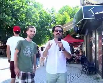 Kosovalı gençten Türk sunucuya Türkçe ayarı - VİDEO