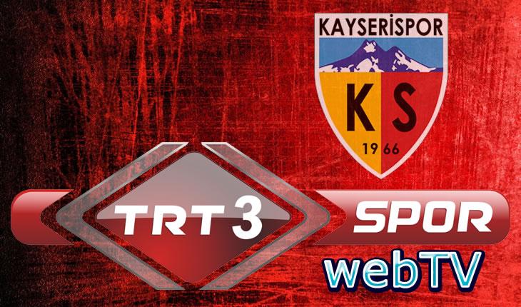 Giresunspor-Kayserispor Maçı TRT Web TV'de