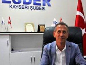 Esder Başkanı ERÇALIK Mescid-i Aksa'nın ibadete kapatılmasıyla ilgili  açıklamada bulundu