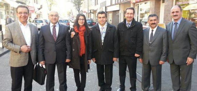VALİ DÜZGÜN KAYSERİ İÇİN ERCİYES İÇİN ALMANYA'DA