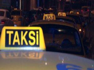 Taksicilere gasp