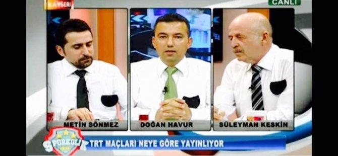 DOĞAN HAVUR'DAN TRT'YE YAYIN TEPKİSİ