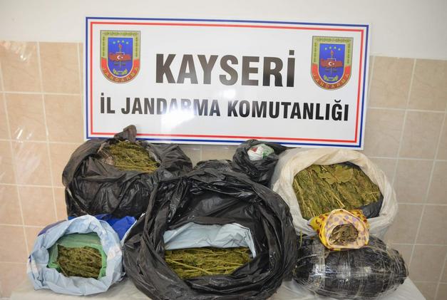 KAYSERİ'DE BÜYÜK ESRAR OPERASYONU