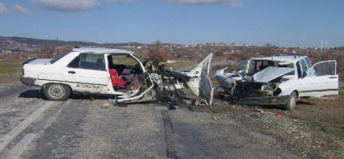 Kayseri'de Trafik Kazası: 6 Yaralı
