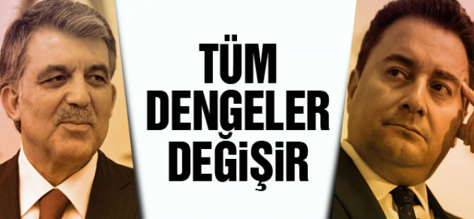 Abdullah Gül ile Ali Babacan Ankara ...