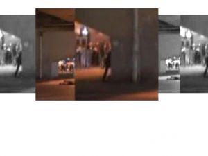 Gösterici, Polisleri Böyle Vurdu - VİDEO