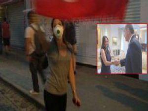 Annesi Başbakan ile Kızı Gezi Parkı Eyleminde - VİDEO