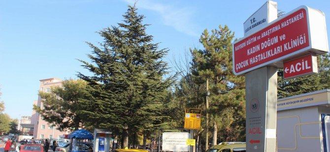 KAYSERİ'DE BEBEĞİNİ HASTANEDE BIRAKIP KAÇTI