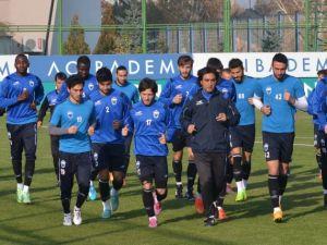 Suat Altın İnşaat Kayseri Erciyesspor'da, Eskişehirspor Maçı Hazırlıkları Sürüyor