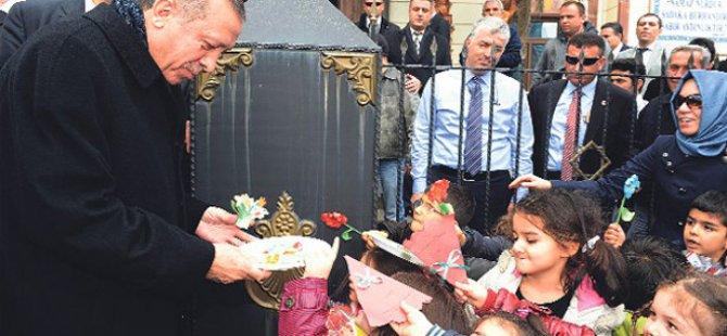 Küçük Kızın Cumhurbaşkanı Erdoğan'a Büyük Sevgisi!
