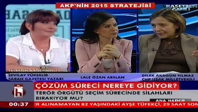 """Sevilay Yükselir'den CHP'li vekile: """"Irkçı kafa"""" - VİDEO"""