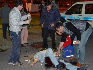Kayseri'de trafik'te kavga pompalı tüfekle kurşun yediler 3: yaralı