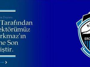 ERCİYESSPOR'DA BÜLENT KORKMAZ'IN GÖREVİNE SON VERİLDİ